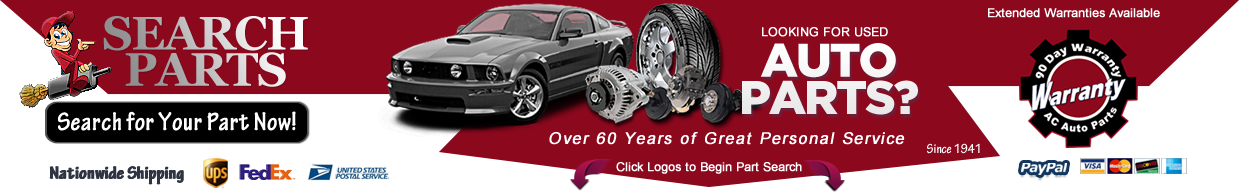 Pull A Part Cleveland Ohio >> Discount Used Auto Parts Oem Or Recycled A C Auto Parts